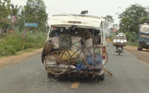 Vận chuyển hàng hóa và hành khách ở Campuchia